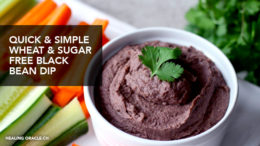 wheat and sugar free healthy dip
