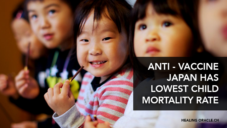 Anti-Vaccine Japan Has World's Lowest Child Death Rate & Highest Life Expectancy