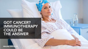 Choose immunotherapy over chemotherapy