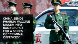 China bankcrupt criminal Pharma vaccine maker