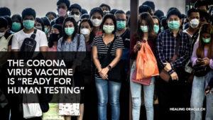 The Corona virus vaccine is here