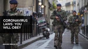 the coronavirus has meant the introduction of a medical and technological military state that has become the will of the people