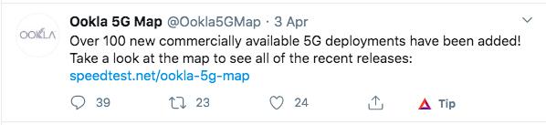 5G map Twitter