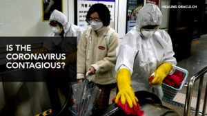 is coronavirus contagious