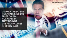Governor Cuomo forces fines on hospitals for not using vaccines