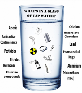 What is in the tap water