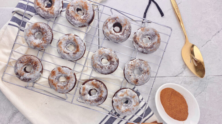 sweet healthy treat: the pumpkin chai donut recipe